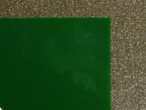 Plexiglas GS, 500 x 500 x 3 mm, grün getönt