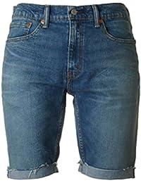 Levi's Hombre 511 Pantalones cortos Slim Fit Cut Off Hippie Boy Denim, Azul