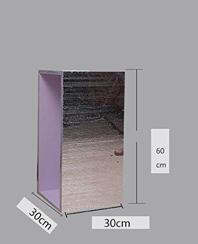 New day®-Minimalista moderno teca di vetro decorazione della casa doni vetrina , high 60 long and wide 30