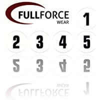Full Force Wear 100 black Helmet Stickers Helmet Decals