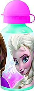 Disney Frozen- Botella cantimplora de Aluminio 400 ml Timeless (STOR 55734)