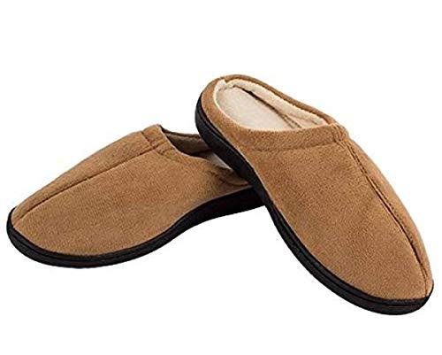 Welzenter Relax Gel, Zapatillas de Estar por casa con talón Abierto Unisex Adulto, (Marrón 106), L