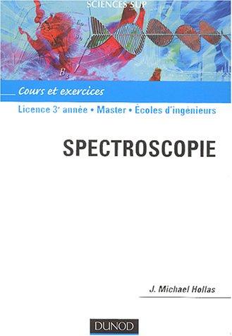 Spectroscopie : Cours et exercices