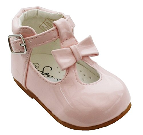 Baby Girls Toddler Shiny Patent Shoes