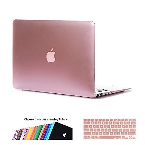 MacBook Air 13 Hülle Case,iNeseon Ultra Slim Plastik Hartschale Tasche