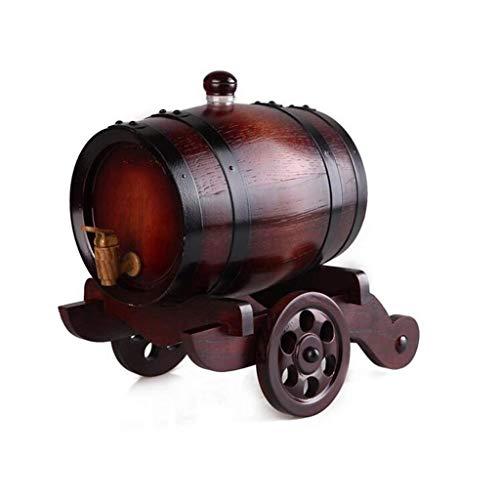RMXMY Personalisierte - Gravierte American Premium Eiche Aging Barrel - Whisky Barrel - Alter Ihren eigenen Whisky, Bier, Wein, Bourbon, Tequila, Rum, Hot Sauce & More (Farbe : A)