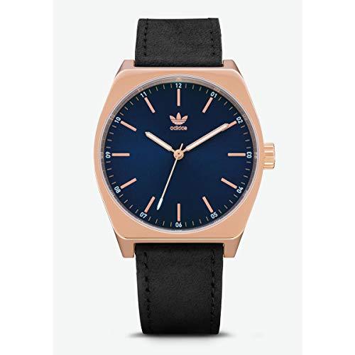 Adidas Hommes Analogique Quartz Montre avec Bracelet en Cuir Z05-2967-00