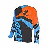 Uglyfrog Bike Wear Atmungsaktiv Trendy Herren Downhill/MTB Jersey Mountain Bike Shirt Fahrradtrikot Langarm Freeride BMX Fr¨¹Hling Top MF06