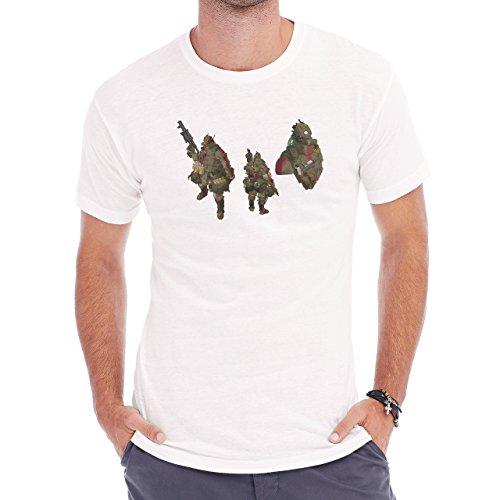 The Art of Clement Sauve Army Of Two Herren T-Shirt Weiß