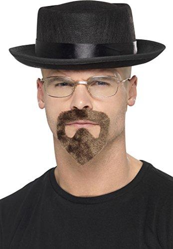 Smiffy's 20499 - Heisen Kit mit Hut Gläser und Ziegenbärtchen