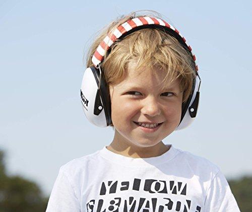Alpine Muffy - Kinder Gehörschutz - Kapselgehörschutz - Weiß, 1er Pack - 8