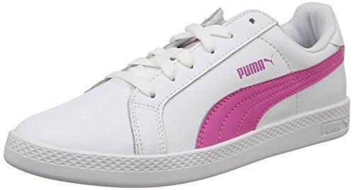 Puma Smash Wns L - Scarpe da Ginnastica Basse Donna Bianco