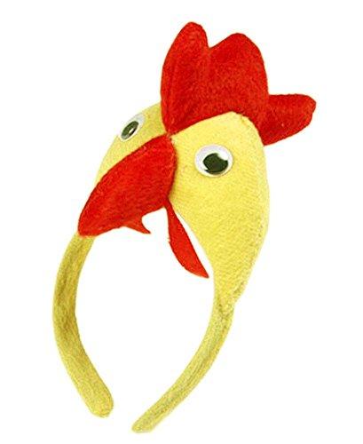 Set Geschenke von 2 [Lustiges Huhn] Kinder-Party-Bevorzugungen Party-Hüte für Kleinkinder / Erwachse