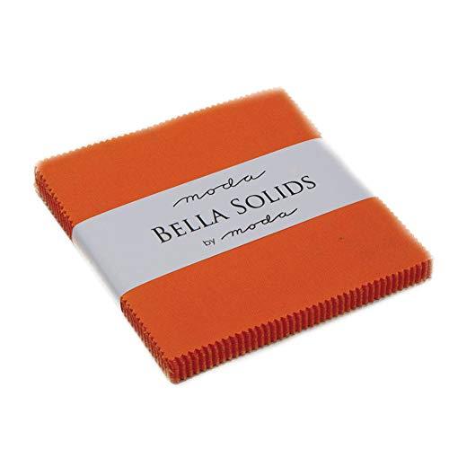 Moda Bella Solids Charm-Pack, Orange -