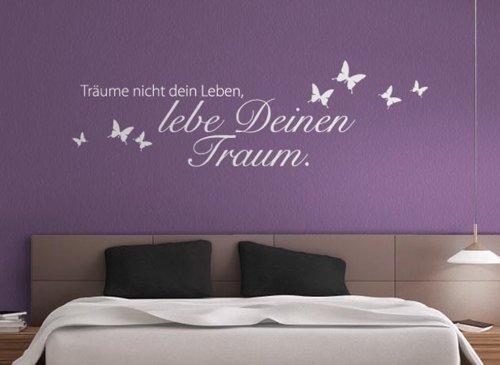 Zitat Träume nicht dein Leben-.. W773