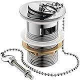 Plug and Chain Basin Waste