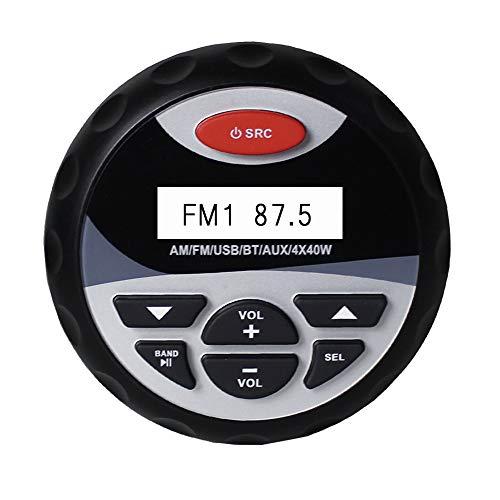 wasserdichte Motorrad Boot Bluetooth Stereo Radio Boot Audio FM Empfänger USB Ladegerät MP3 Player AUX RCA für Auto SPA ATV UTV Bin Wasserdicht Radios