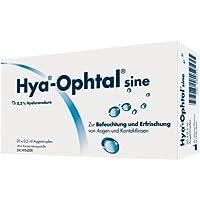 Hya-Ophtal-sine Augentropfen Spar-Set 40x0,5ml. Zur Erfrischung und Befeuchtung von trockenen Augen. Verbessert... preisvergleich bei billige-tabletten.eu