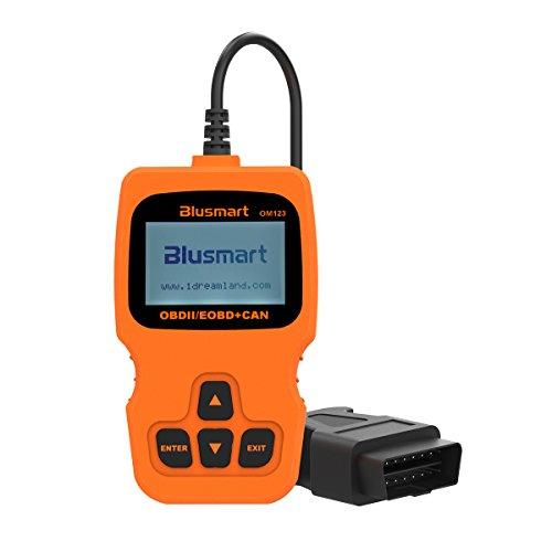 OBD MATE OBDII Auto Code Fahrzeug Codeleser Auto Diagnosescan Werkzeug für das Jahr 2000 oder später USA, Europa und Asien OBD2 Protokoll Vehicle (orange)