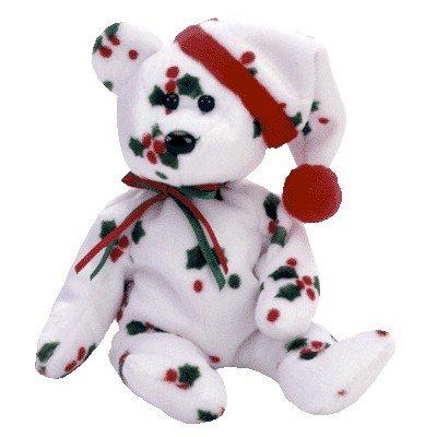 ty-1998-holiday-teddy-the-bear-beanie-buddy-12-rare