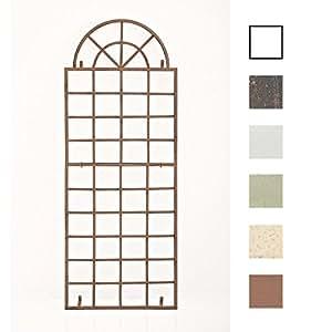 clp wand rankgitter viva mit rahmen gr e 180 x 70 cm zur wandbefestigung metall eisen. Black Bedroom Furniture Sets. Home Design Ideas