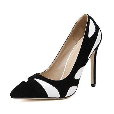 Moda Donna Sandali Sexy donna tacchi tacchi Estate Felpa casual Stiletto Heel altri Giallo / Bianco Altri White