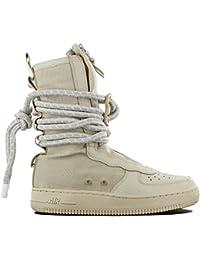 e08a03629b52da NIKE SF Air Force High Top Womens Boots Rattan Rattan White aa3965-200