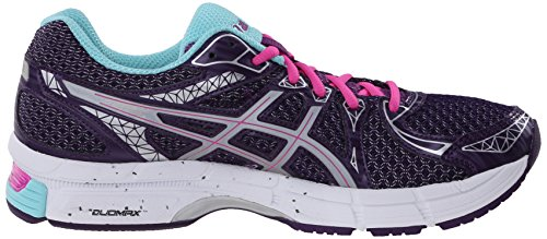 Asics Gel-Exalt 2 Liteshow Synthétique Chaussure de Course Darkberry-Silver-Aqua Splash
