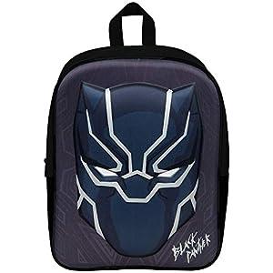 41YZASYqq7L. SS300  - Black Panther Mochila Infantil Niño Primaria 3D Marvel Avengers Mochilas Escolares Chico Infinity War