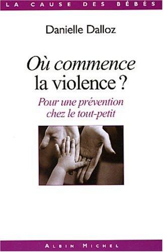 Pour une prévention de la violence chez le tout-petit