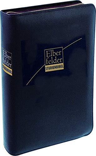 Elberfelder Bibel 2006: Studienbibel mit Sprachschlüssel und Konkordanz / Kunstleder mit Reißverschluss