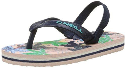 O'Neill Unisex-Kinder FY Team Lil Flip Flops Dusch-& Badeschuhe, Rose (Pink Aop), 24 EU (Team-flip-flop-sandalen)