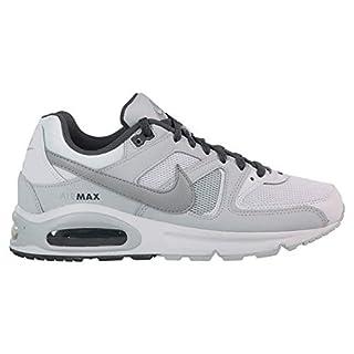 Nike Herren AIR MAX Command Laufschuhe Mehrfarbig (White/Wolf Pure Platinum-Dark Grey 107), 43 EU