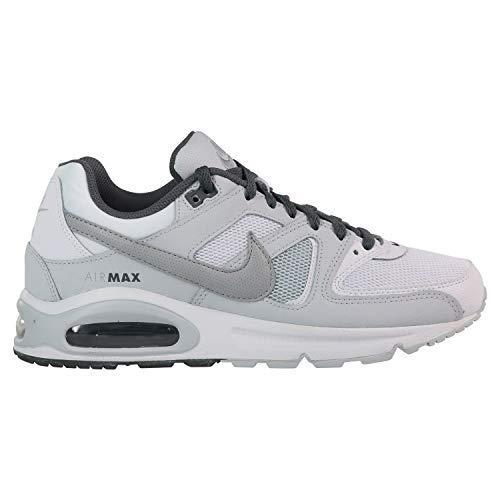 best website 7519f 7cb3a Nike Air MAX Command, Zapatillas de Atletismo para Hombre, (White Wolf Pure