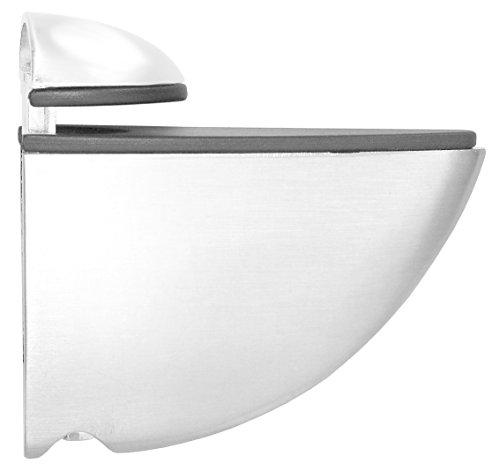 Element System Regalbodenträger Selecta, 2 Stück, Glas-Holzbodenträger, weiß, 5 Farben, 11053-00000 (Bracket Shelf 4 Glas 1)