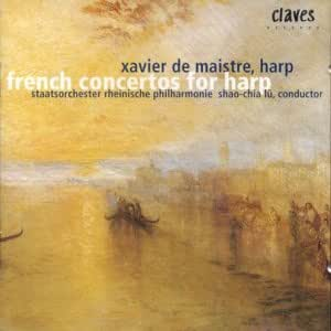 Virtuoso French Concertos For Harp [Swiss Import]