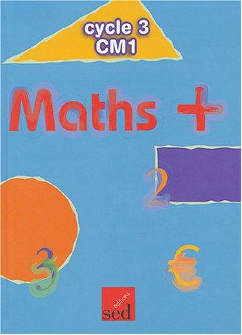 Maths + CM1