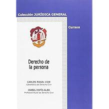 Derecho de la persona (Jurídica General-Cursos)