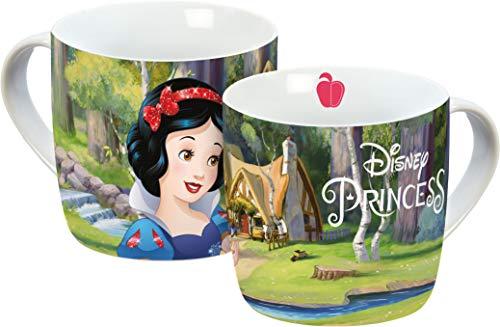 Disney 12768 Schneewittchen Porzellantasse, Mehrfarbig, 11,5 x 8 x 8 cm