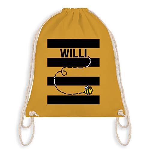 (Karneval & Fasching - Bienen Kostüm Willi - Unisize - Senfgelb - WM110 - Turnbeutel & Gym Bag)