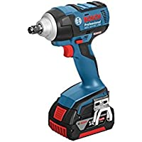 Bosch GDS18VEC250 18v High Torque Impact Wrench Kit 2 x 5.0ah