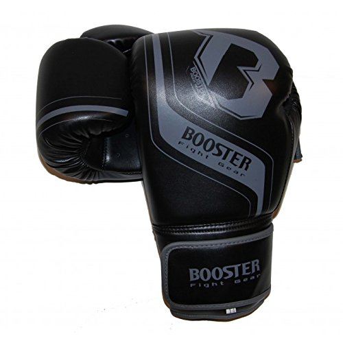 Booster Boxhandschuhe, BT Enforcer, schwarz, Boxing Gloves, MMA, Muay Thai Size 12 Oz