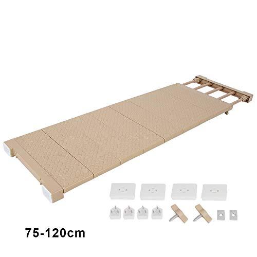Topincn scomparto regolabile ripiano armadio scaffale separatori ripiano per armadio regolabile per armadi frigoriferi bagni credenze cucine (xl)
