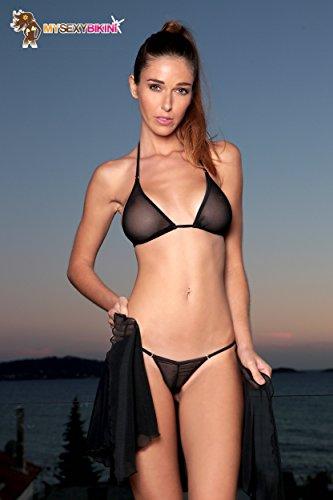 my sexy bikini Damen Bikini-Set Schwarz