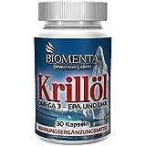 Biomenta Huile De Krill - Krill Omega 3 - EPA DHA - 30 Fish-Oil Capsules