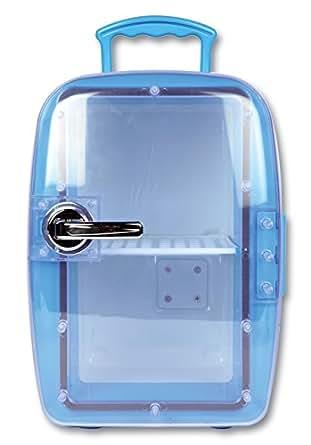 mini frigo froid chaud 6 litres petit r frig rateur bar maison voiture bureau. Black Bedroom Furniture Sets. Home Design Ideas