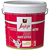 JAFEP Pintura Plastica Mate Extra Supercubriente 4 L