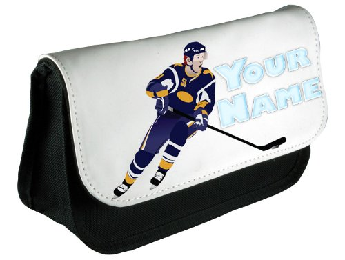 Stiftemäppchen, personalisiert, Design Eishockey
