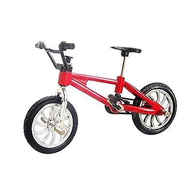 Li-ly Finger Bike Caractéristiques Nini Mountain Sports Bike Mini Jeu De Jouets en Métal pour Enfants Garçons Rouge 1PC Durable et Pratique