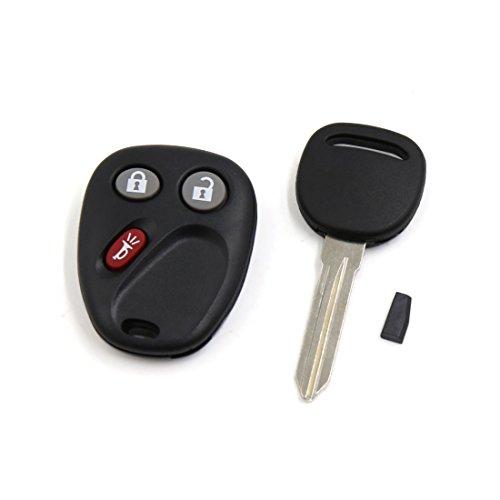sourcingmapr-car-keyless-entry-remote-control-fob-clicker-w-ignition-key-set-for-lhj011